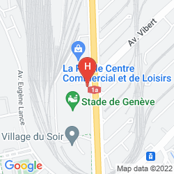 Map RAMADA ENCORE GENEVA