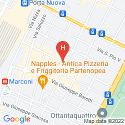 Map BEST WESTERN HOTEL PIEMONTESE