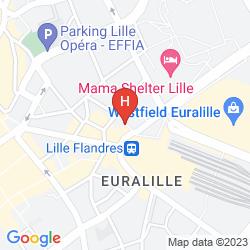 Map CALM APPART HOTEL