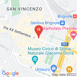 Map ALBERGO ASTRO