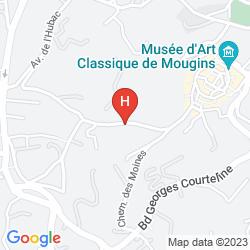 Map LE MAS CANDILLE