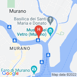 Map HYATT CENTRIC MURANO VENICE