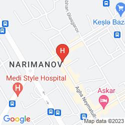 Map AVAND HOTEL