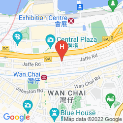Map MIRA MOON HOTEL