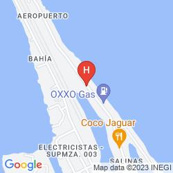 Map LUNA D'MIEL SUITES