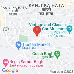 Map HOTEL BOHEDA PALACE