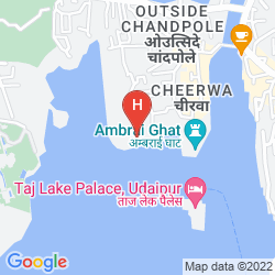 Map RAASLEELA LUXURY CAMP