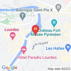 Map ASTORIA VATICAN