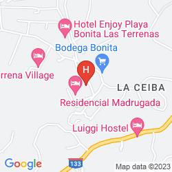 Map RESIDENCE MADRUGADA