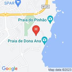 Map APARTAMENTOS IBERLAGOS
