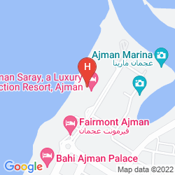 Map AJMAN SARAY, A LUXURY COLLECTION RESORT