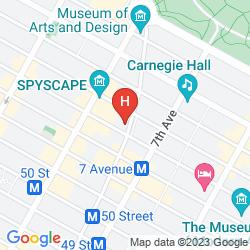 Map COURTYARD BY MARRIOTT NEW YORK MANHATTAN/CENTRAL PARK