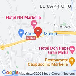 Map ALANDA MARBELLA