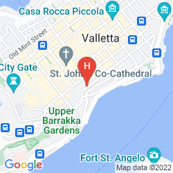 Map VALLETTA MERISI SUITES