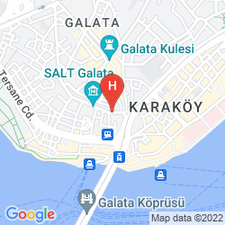 Map THE HOUSE HOTEL KARAKOY