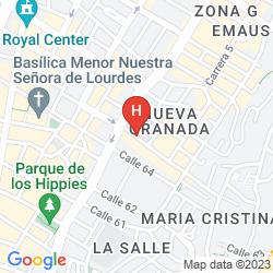 Map ANTIQUE 65 HOTEL Y DECORACION