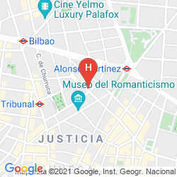 Map URSO HOTEL AND SPA