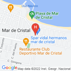 Map RIBERA BEACH RESORT