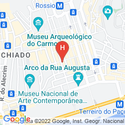 Map MY STORY HOTEL OURO