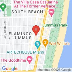 Map MIAMI BEACH INTERNATIONAL HOSTEL