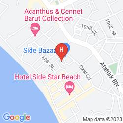 Map VILLA ADORA BEACH