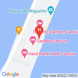 Map JW MARRIOT CANCUN RESORT & SPA