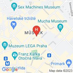 Map WENCESLAS SQUARE TERRACES