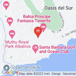 Map SANTA BARBARA GOLF AND OCEAN CLUB