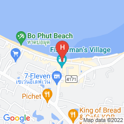 Map BAAN TALAY SAI VILLA