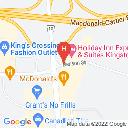Map RAMADA KINGSTON HOTEL AND CONFERENCE CENTER