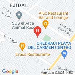 Map APART HOTEL CASAEJIDO