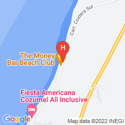 Map THE LANDMARK OF COZUMEL