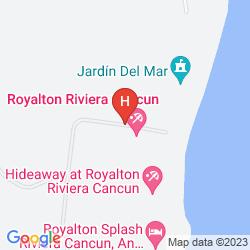 Map ROYALTON RIVIERA CANCUN - ALL INCLUSIVE