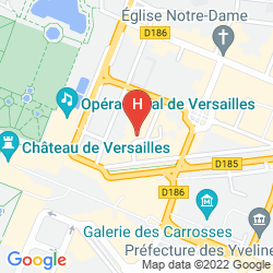 Map LE VERSAILLES