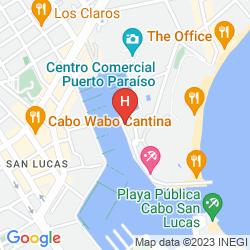 Map CABO MARINA BEACH CONDOS