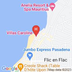 Map VILLAS CAROLINE