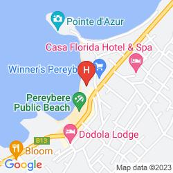 Map OCEAN BEAUTY BOUTIQUE HOTEL