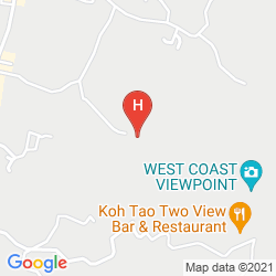 Map KOH TAO STAR VILLA