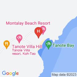 Map MONTALAY BEACH RESORT KOH TAO