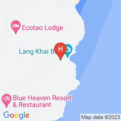 Map MOONDANCE MAGIC VIEW BUNGALOW
