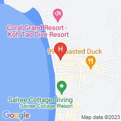 Map SAIREE HUT DIVE RESORT