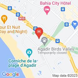 Map ROYAL MIRAGE AGADIR