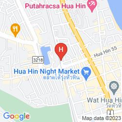 Map SUNNY HOUSE HUA HIN