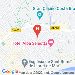 Map APARTAMENTOS SANTI