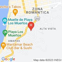 Map CASA CUPULA