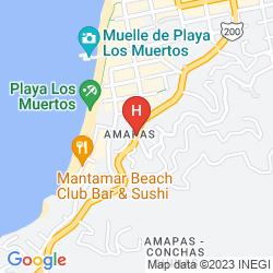 Map HOTEL COSTA LINDA VALLARTA