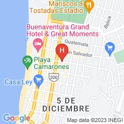 Map HOTEL MOCALI