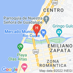 Map SUITES PLAZA DEL RÍO