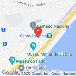 Map SWEET LISBON GUESTHOUSE