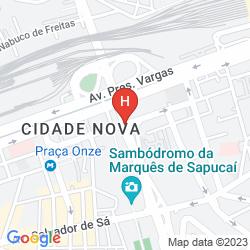 Map WINDSOR ADMINISTRAÇÃO DE HOTÉIS E SERVIÇOS, LTDA.